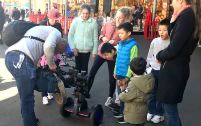 Channel Seven News features Nimbo at Luna Park
